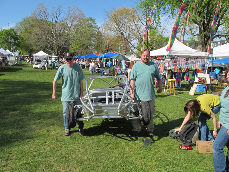 Amherst Sustainabilty Festival/construction progress